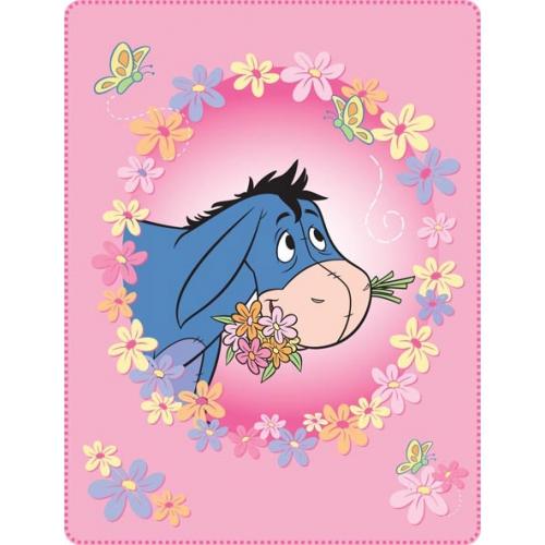 Winnie The Pooh Beautiful Day Panel Fleece Blanket Throw