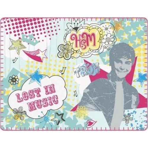 High School Musical Troy Panel Fleece Blanket Throw