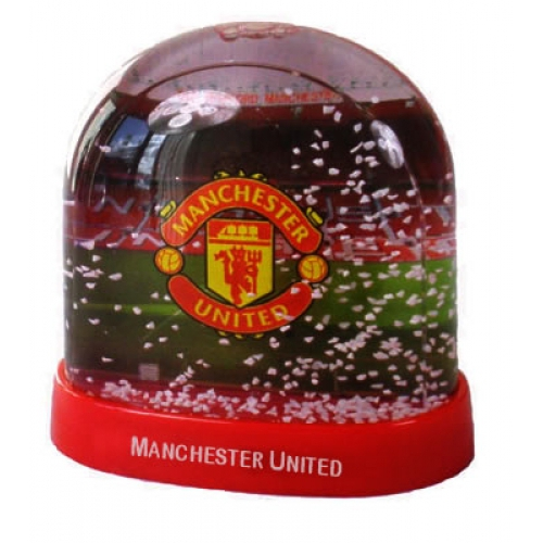 Manchester United Fc Stadium Football Snow Dome Official Decoration