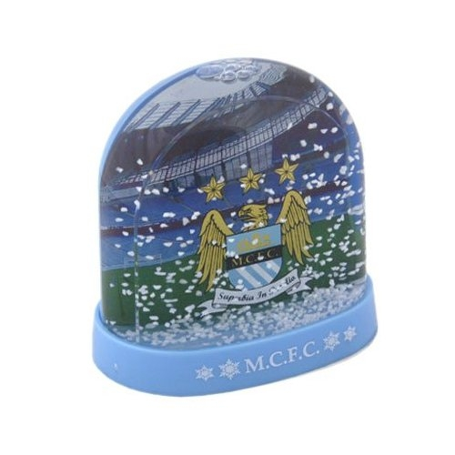 Manchester City Fc Stadium Football Snow Dome Official Decoration