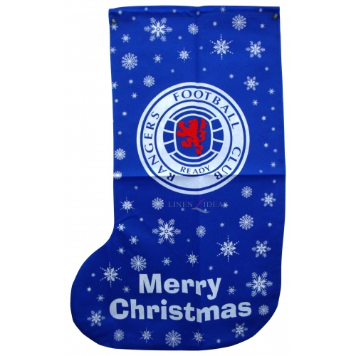 Rangers Fc Football Xmas Stocking 1m Official Christmas