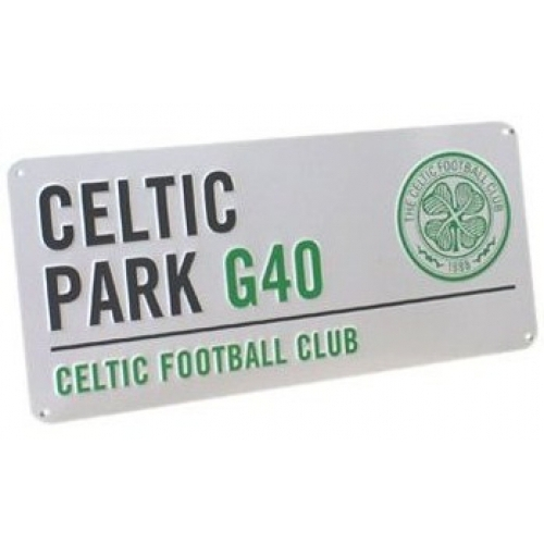 Celtic Fc Football Street Sign Official Board