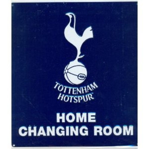 Tottenham Hotspur Fc Football Home Changing Room Sign Official Board