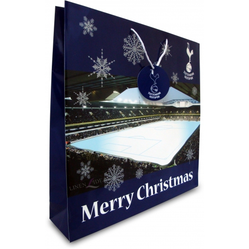 Tottenham Hotspur Fc Football Paper Gift Bag Official Christmas