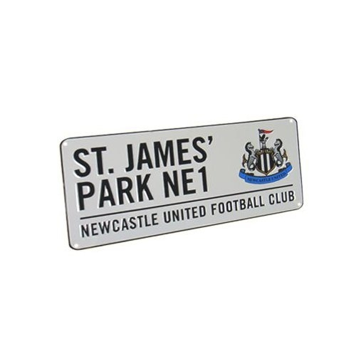 Newcastle United Fc Football Street Sign Official Board