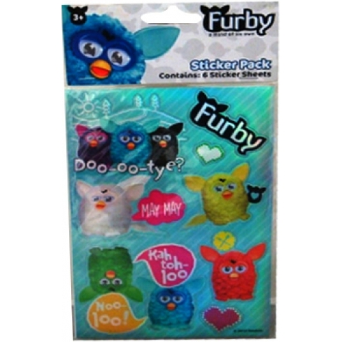 Furby Wall Sticker Decoration