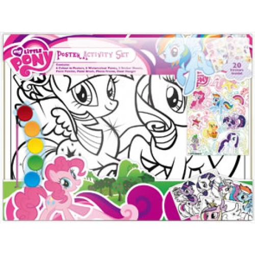 My Little Pony Poster Colouring Set Stationery