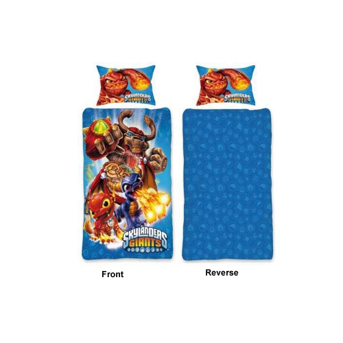 Skylanders Giants Reversible Panel Single Bed Duvet Quilt Cover Set