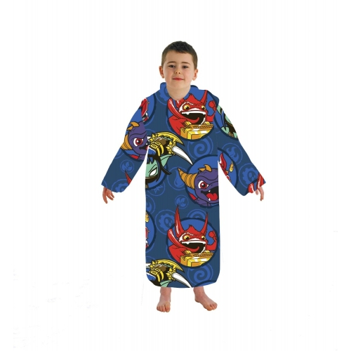 Skylanders 'Giants' Cosy Wrap Blanket Sleeved Fleece