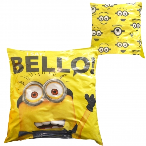 Despicable Me 2 Minions 'I Say Bello' Printed Cushion
