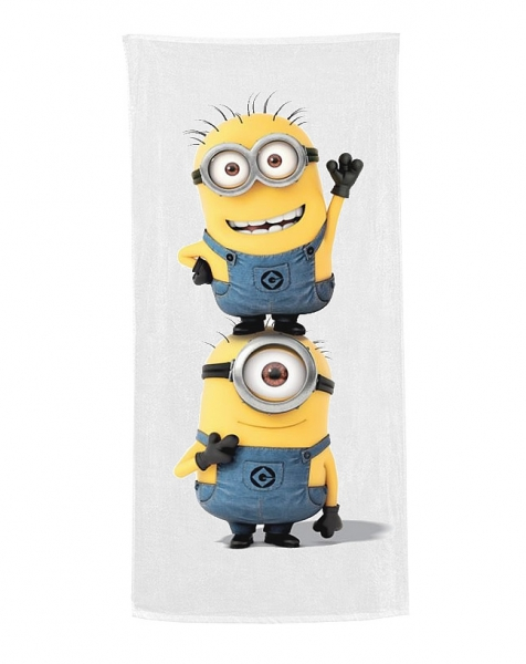 Despicable Me Minion Printed Beach Towel
