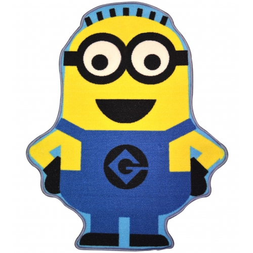 Despicable Me 'Minion Dave' Shaped Rug