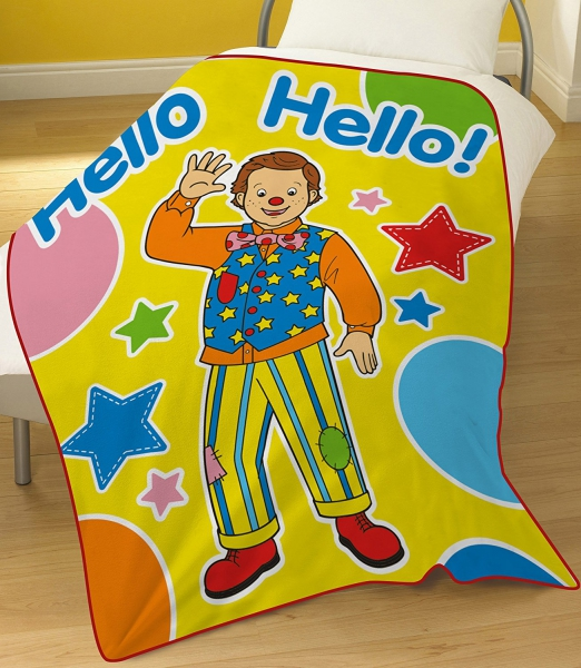 Mr. Tumble 'Something Special' Panel Fleece Blanket Throw