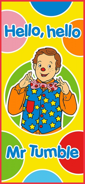 Something Special Mr Tumble Printed Beach Towel