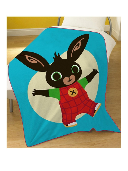 Bing Bunny Panel Fleece Blanket Throw