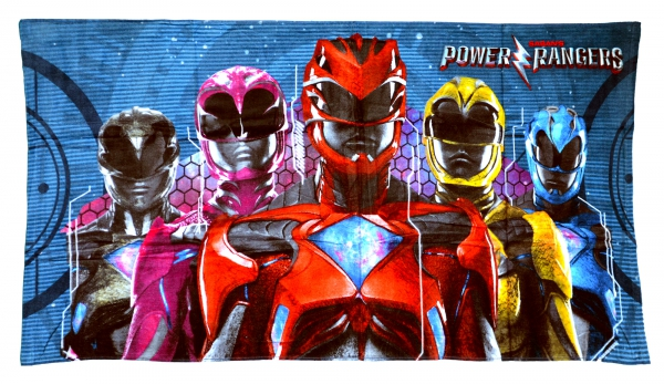 Power Rangers 'Power Within' Printed Beach Towel