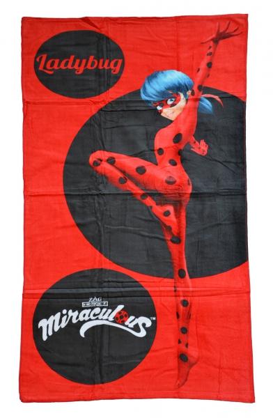 Miraculous Ladybug Printed Beach Towel