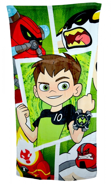 Ben 10 'Frames' Printed Beach Towel