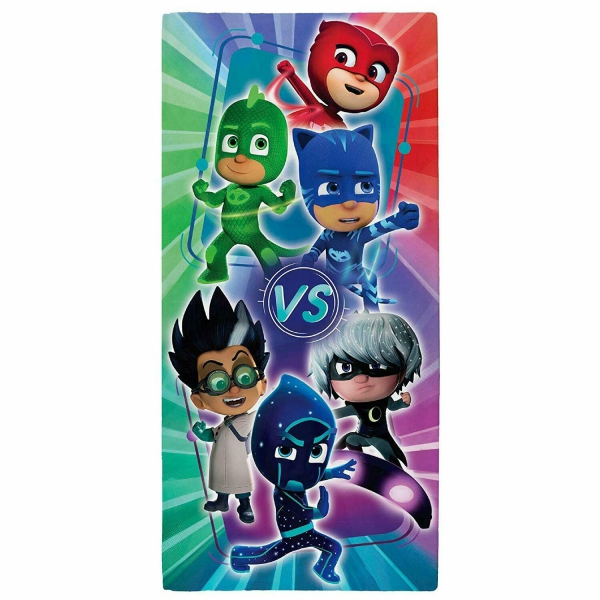 Disney Pj Masks Heroes V' S Villains Printed Beach Towel