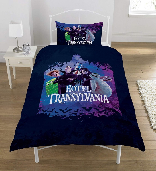 Hotel Transylvania Panel Single Bed Duvet Quilt Cover Set