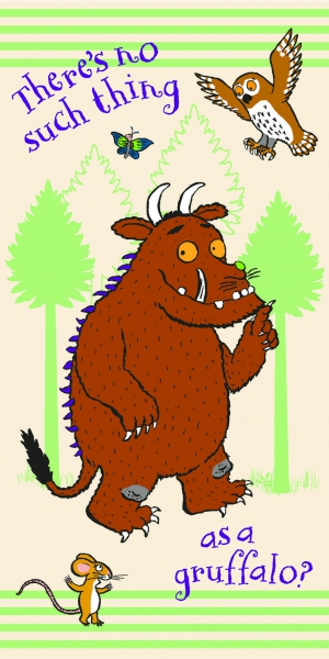 The Gruffalo Printed Beach Towel