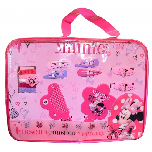 Disney Minnie Mouse Poised Pretty Hair Accessory Set Girls Accessories
