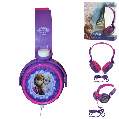 Disney Frozen 'Anna & Elsa' Stereo Headphones Computer Accessories