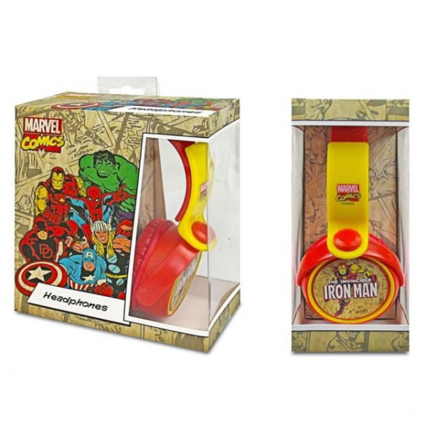 Iron Man 'Shield' Dj Style Headphones Computer Accessories