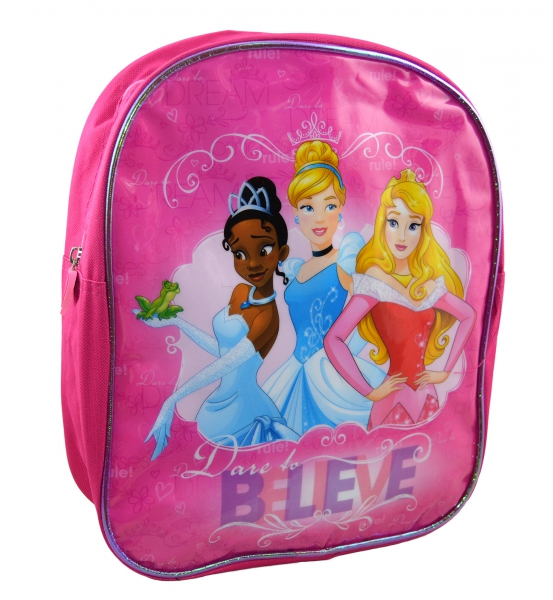 Disney Princess 'Believe' Junior School Bag Rucksack Backpack