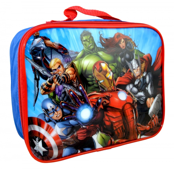 Avengers 'Force' School Rectangle Lunch Bag