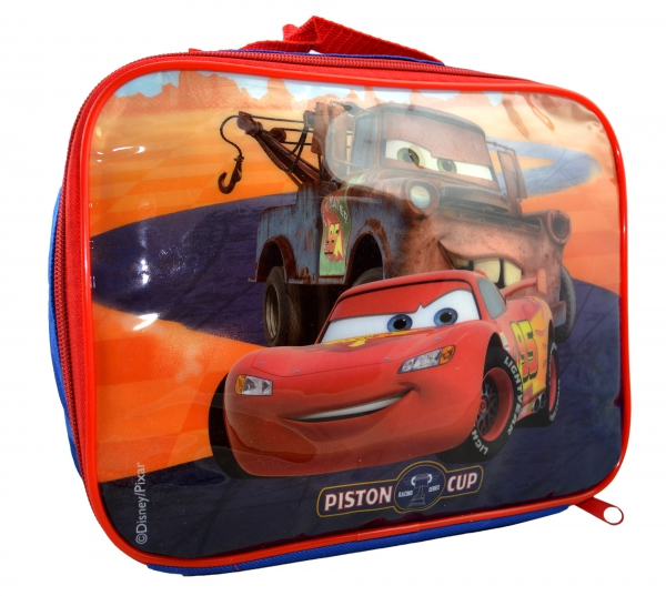 Disney Cars 3 'Piston Cup' School Rectangle Lunch Bag