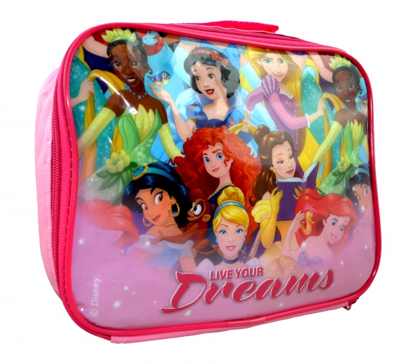 Disney Princess 'Live Your Dreams' School Rectangle Lunch Bag