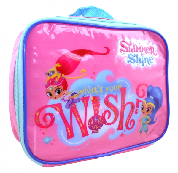 Shimmer & Shine 'What's Your Wish' School Rectangle Lunch Bag