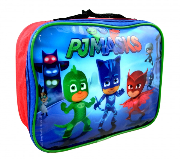 Disney Pj Masks 'Ready For Action' School Rectangle Lunch Bag