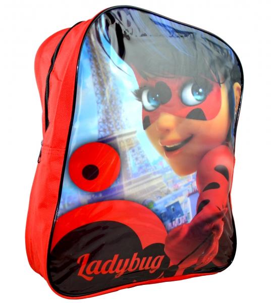 Miraculous 'Ladybug' Arch School Bag Rucksack Backpack