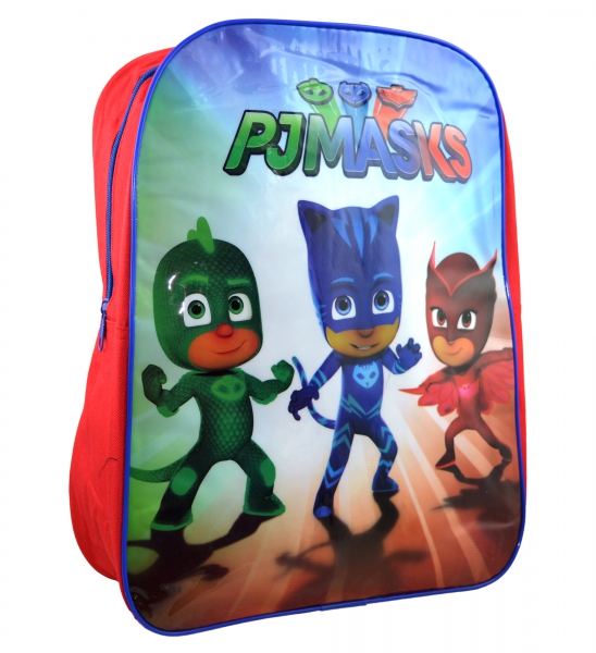 Disney Pj Masks 'Ready For Action' Arch School Bag Rucksack Backpack