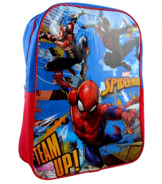Spiderman 'Team Up' Junior School Bag Rucksack Backpack