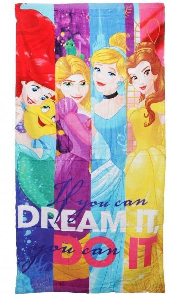 Disney Princess 'Dream' Printed Beach Towel