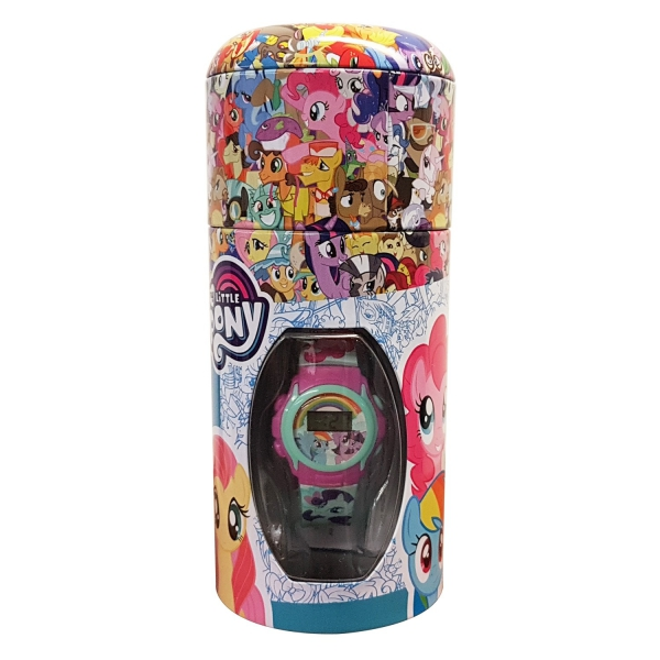My Little Pony Girls Digital Metal Money Coin Tin Gift Wrist Watch
