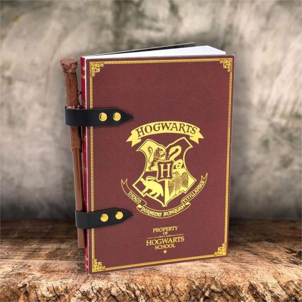 Harry Potter & Wand Pencil Set Notebook Stationery