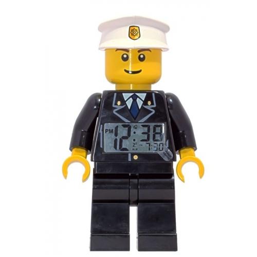 Lego 'City Policeman Minifigure' Alarm Clock