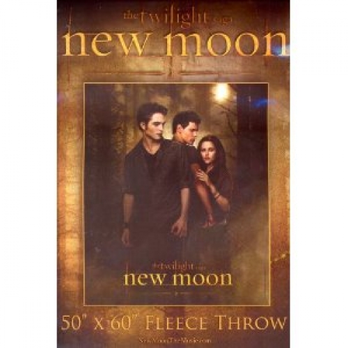Twilight New Moon Panel Fleece Blanket Throw
