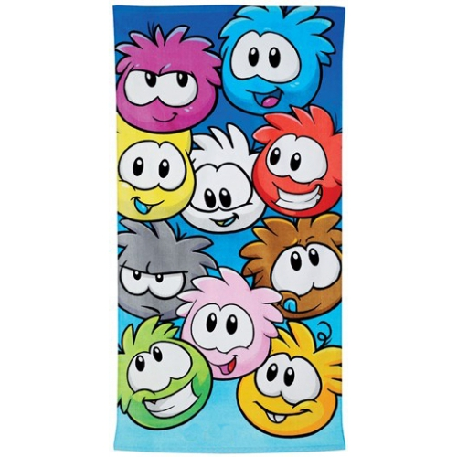Club Penguin Printed Beach Towel