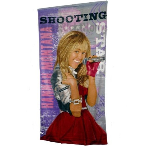Disney Hannah Montana Star Beach Towel