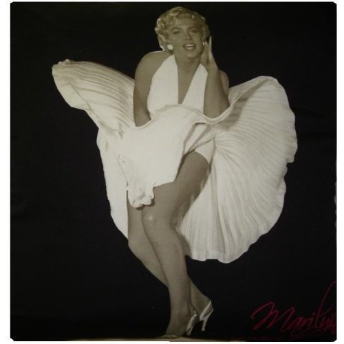 Marilyn Monroe Panel Fleece Blanket Throw