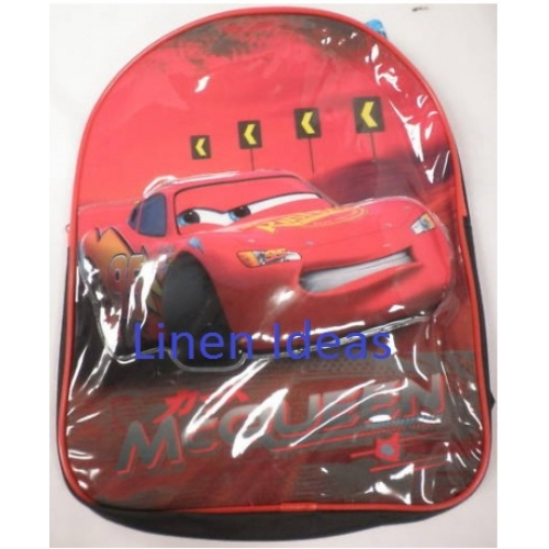 Disney Cars Mcqueen School Bag Rucksack Backpack