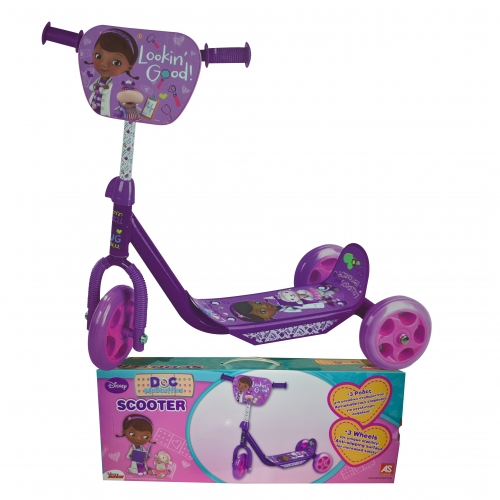 Disney Doc Mcstuffins 3 Wheel Scooter Toy