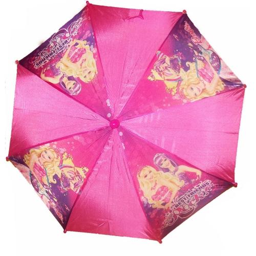 Barbie Pink School Rain Brolly Umbrella