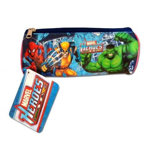 Marvel Heroes 'Barrel' Pencil Case Stationery