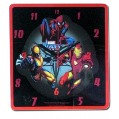Marvel Heroes Wall Clock